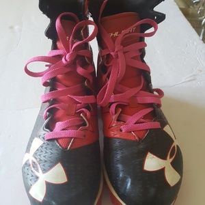Under Armor cleat shoes